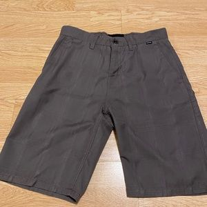 Hurley Brown Shorts Brown Mens Size 30